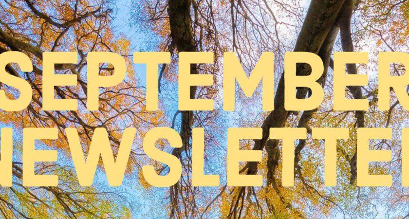 September 2021 – Newsletter